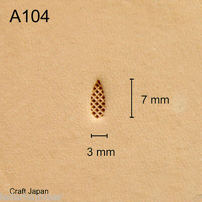 Punziereisen, Lederstempel, Punzierstempel, Leather Stamp, A104 - Craft Japan