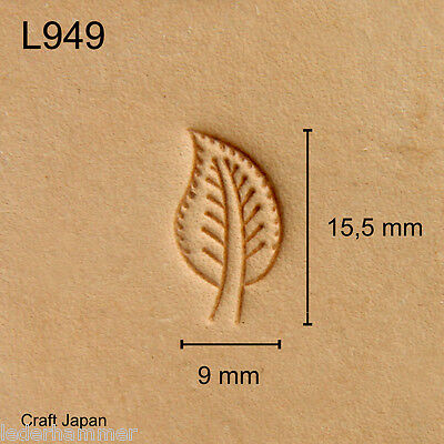 Punziereisen, Lederstempel, Punzierstempel, Leather Stamp, L949 - Craft Japan