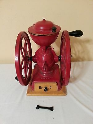Vintage Enterprise Number 5 Dual Wheel Coffee Grinder Mill