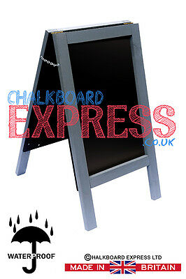 A Board Pavement Display Frame Stand Blackboard Chalk Traditional Chalkboard