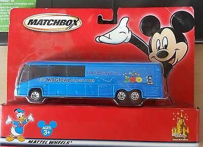 MATCHBOX MCI BUS DISNEYLAND THE MAGICAL PLACE TO BE--BRAND NEW