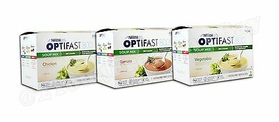 Optifast® 800 Soup | 6 Boxes | Chicken / Garden Tomato | New | Latest Dates