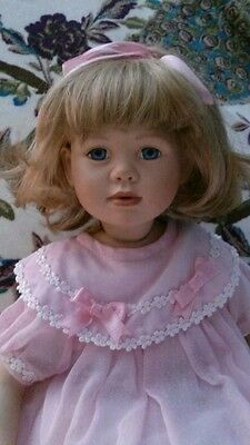 "Christine Orange beautiful doll.  ""SUSAN"" Reduced!  Some TLC needed."