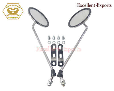 Vespa PX LML Rear View Mirror Chrome Plated And Spares Brand New P3052
