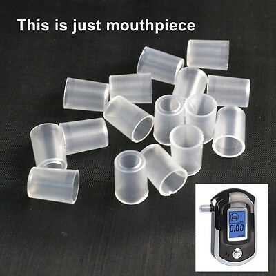 50pcs/bag Mouthpieces for Police Breath Alcohol Breathalyzer Tester AT-6000