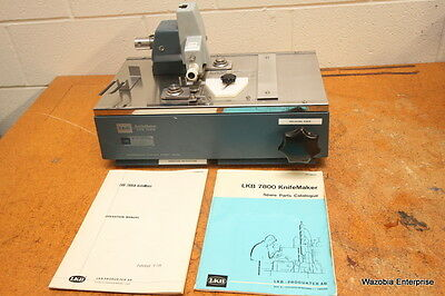 Lkb Microtome Glass  Knife Maker Knifemaker Type 7801B 7800