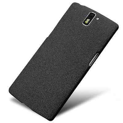 Hard Shell Slim Quicksand Sandstone Back Cover Case For Oneplus One 2 3T 6 1+