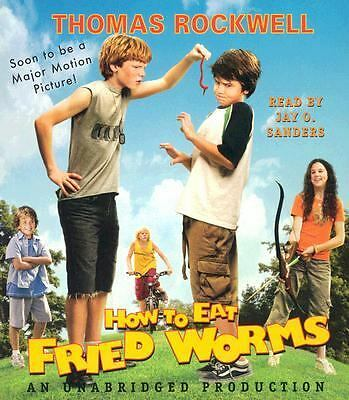 How to Eat Fried Worms by Thomas Rockwell (2006, CD, Movie Tie-In, Unabridged)