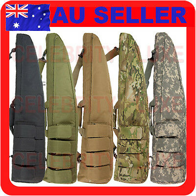 """New 100cm/39"""" Rifle Gun Carry Case Bag Tactical Hunting Military Army Camouflage"""
