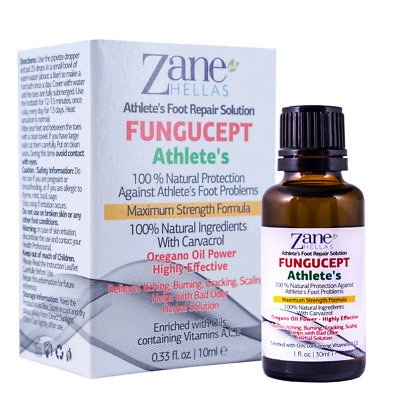Fungus Stop.Anti Fungal Athletes Foot Solution.KILL 99.9% of FUNGUS.1oz-30ml