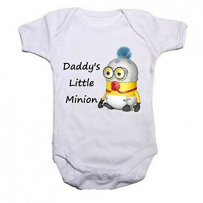 Daddys Little Minion Funny Baby/Toddler Vest Newborn Gift - Bodysuit/Grow