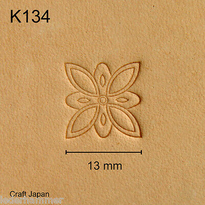 Punziereisen, Lederstempel, Punzierstempel, Leather Stamp, K134 - Craft Japan