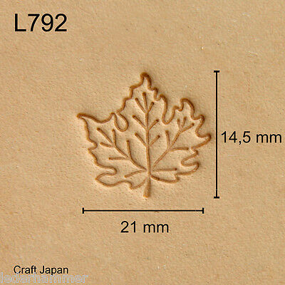 Punziereisen, Lederstempel, Punzierstempel, Leather Stamp, L792 - Craft Japan