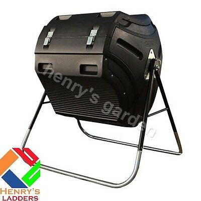 Henry's 300 Litre Composter Tumbler with Free Mainland UK Delivery
