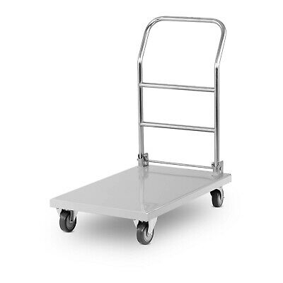 Chariot Pliable Magasin Trolley De Manutention Pliant Dossier Rabattable 330Kg