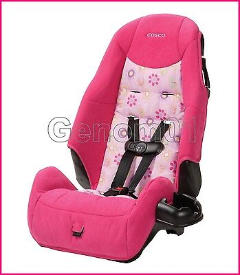 Convertible Safety Car Seat HIGH BACK Baby Pink 5 point Harness Infant Toddler
