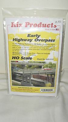 Rix Products HO Scale Early Highway Overpass Item #628-0101 New