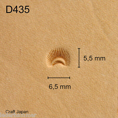 Punziereisen, Lederstempel, Punzierstempel, Leather Stamp, D435 - Craft Japan