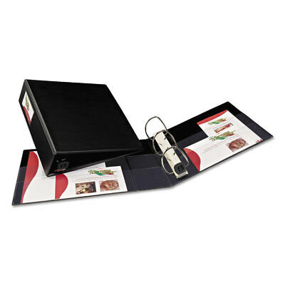 Heavy-Duty Binder with One Touch EZD Rings, 3'' Capacity., Black