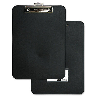 Unbreakable Recycled Clipboard, 1/2'' Capacity, 8 1/2 x 11, Black