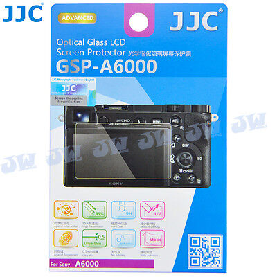 JJC Optical Tempered LCD Glass Screen Protector for SONY A6000 A6300 A5000