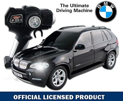 Official Licensed 1:18 BLACK BMW X5 Electric RC Radio Remote Control Car Toy Kid