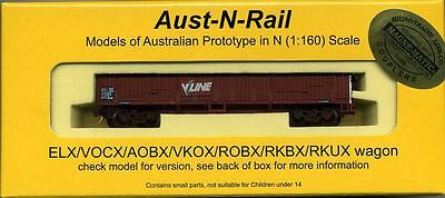 ROBX (ELX) VLINE lettering no 335 includes Micro-Trains