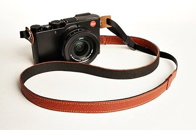Handmade Genuine real leather camera strap neck strap for EVIL FILM Camera01-121