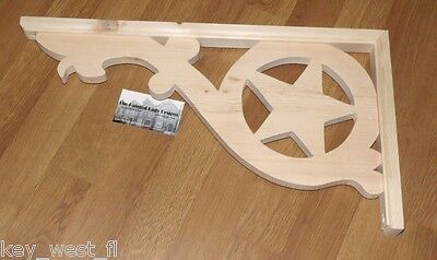 "Victorian Wood Gingerbread { 20"" x 11"" } Porch & House Trim Bracket #33 ~ by PLD"