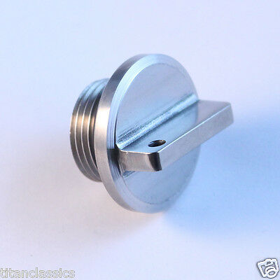 RGV250 oil plug TITANIUM. Part: 11971-12C51  Totally stainless corrosion proof!