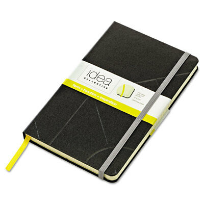 Idea Collective Journal, Hard Cover, Side Binding, 5 x 8 1/4, Black