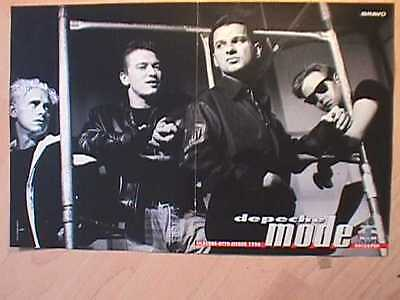 1 german poster DEPECHE MODE DAVE GAHAN MARTIN GORE NOT SHIRTLESS BOY BAND TEEN