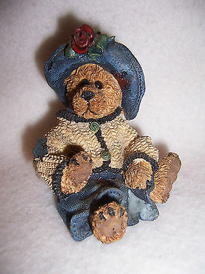 FOB BOYDs ornament BEAR blue jean dress HAT sweater  limited edition hand signed