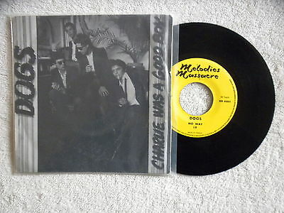 """45T 7"""" DOGS """"Charlie was a good boy"""" MELODIES MASSACRE MM45001 FRANCE µ"""