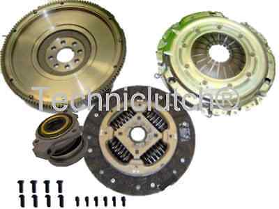 Dual To Single Mass Flywheel And Clutch Kit With Csc For Opel Meriva 1.7Cdti 1.7