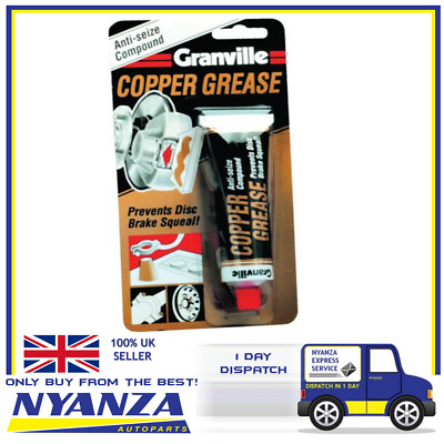 Granville 0148 Copper Grease 70g Tube Brakes Anti Seize Compound