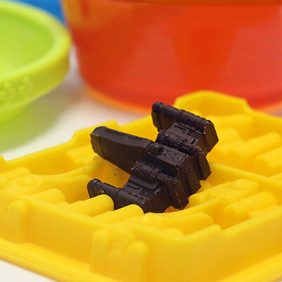 Useful 2015 Silicone Star Wars Ice Cube Tray Mold  Cookie Soap Baking Mould DIY
