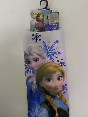 Disney Frozen Elsa Anna Socks 2 Sizes Available Ideal Nice & Warm Funky