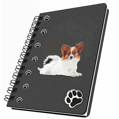 Got Yo Gifts Lined Dog Notebook Journal NEW Papillon