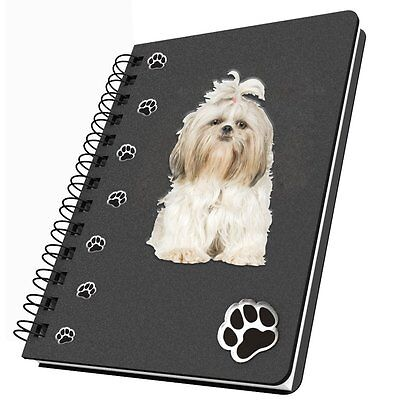 Got Yo Gifts Lined Dog Notebook Journal NEW Shih Tzu