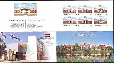 "Latvia - ""Helsinki Stamp Fair 2000"" Booklet"
