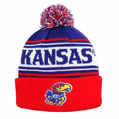 Kansas Jayhawks Top of the World Ambient Knit Hat