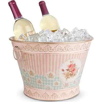 Floral Vintage Chic Ice Bucket - Large