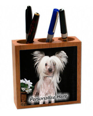 Chinese  Crested    ( 55 )    Personalized  Pencil and Pen Holder