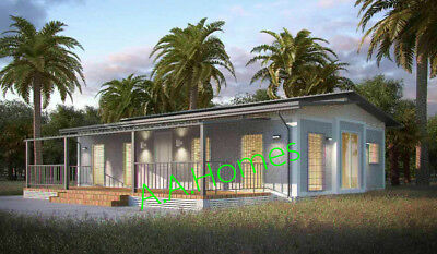 Angeli 78m2 Granny Flat - 20' x 40'  3 bedroom Folding Home - by Anembo Homes