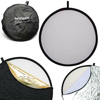 "Neewer 110CM 43"" 5 in 1 Studio Multi Photo Disc Collapsible Light Reflector"