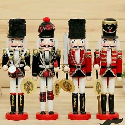 """12""""/30cm 1pc nutcracker christmas gift bar home decoration 4 choices baby toy"""
