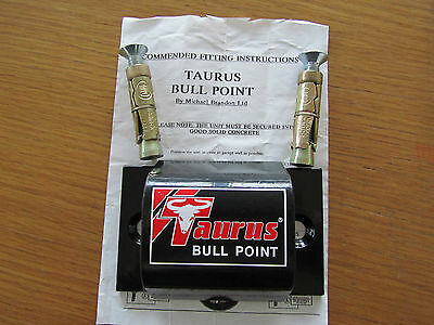 Taurus Bull Point Ground Anchor Including Fittings & Instructions