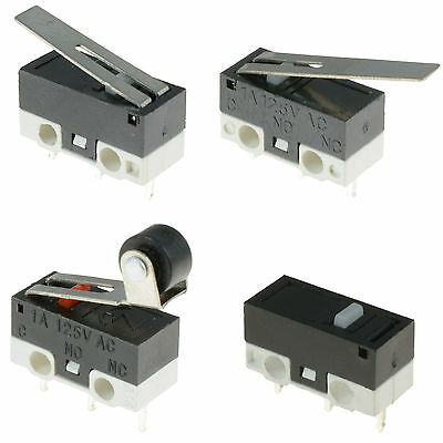 5 x Ultra Mini Microswitch SPDT Sub Miniature Micro Switch