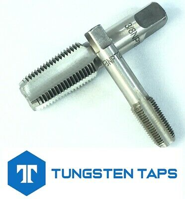 "1/8"" - 27 1/4"" - 18 3/8"" - 18 NPT Tungsten Steel Taps Dies NEW Sent from the UK"